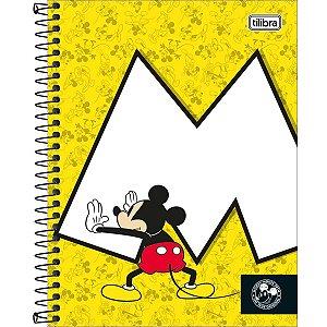 Caderno Colegial Tilibra Mickey 90 Anos M 1 Materia