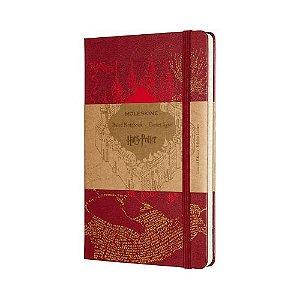 Caderno Moleskine Harry Potter Mapa do Maroto - Edição Limitada
