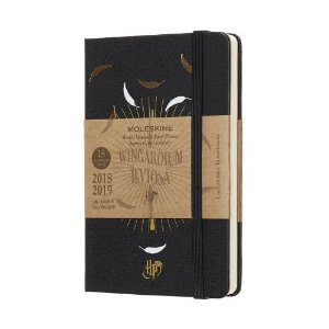 Caderno Moleskine Harry Potter Wingardium Leviosa - Edição Limitada