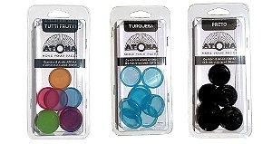 Conjunto Anéis de Vinculação Atoma 28mm para cadernos A5
