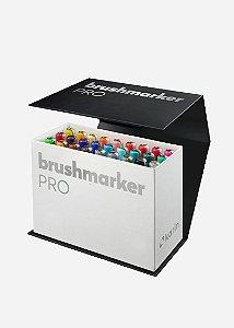 Conjunto Marcador Ponta Pincel Karin Brushmarker Pro Mini Box 27 Peças