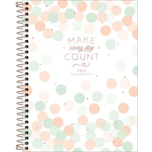 Planner Tilibra Soho Permanente Make Every Day Count Branco