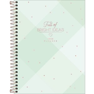 Planner Tilibra Soho Permanente Bright Ideas Xadrez