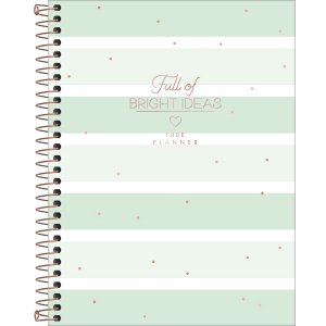 Planner Tilibra Soho Permanente Bright Ideas Listras