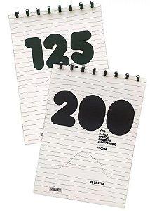 Caderno de Desenho A4 Atoma 200g 20 folhas