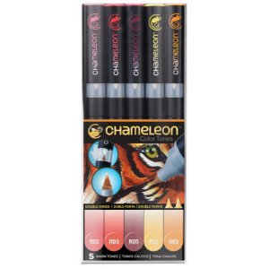 Marcadores Chameleon Color Tones - Cores Quentes