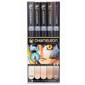 Marcadores Chameleon Color Tones - Tons de Pele