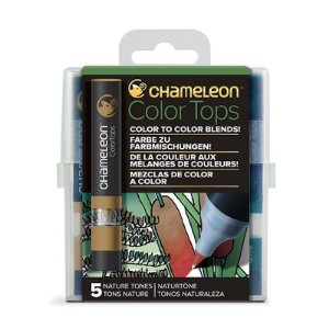 Marcadores Chameleon Color Tops - Tons da Natureza