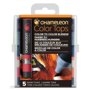 Marcadores Chameleon Color Tops - Cores Quentes
