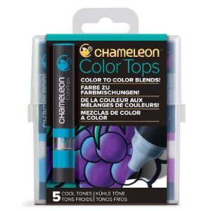 Marcadores Chameleon Color Tops - Cores Frias