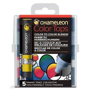 Marcadores Chameleon Color Tops - Cores Primárias