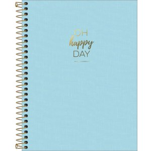Caderno Tilibra Happy Colegial 1 Materia Azul
