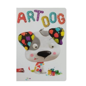 Caderno MarMar Zoo A4 Pautado Art Dog