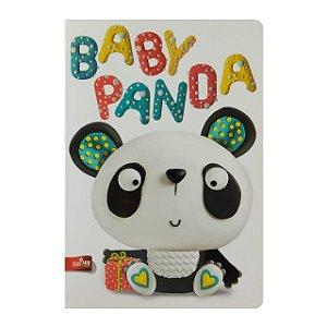 Caderno MarMar Zoo A4 Pautado Baby Panda