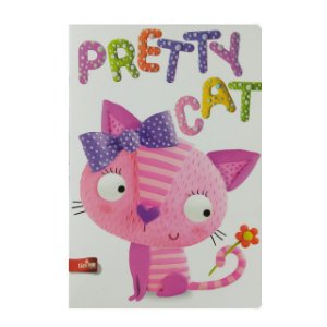 Caderno MarMar Zoo A4 Pautado Pretty Cat
