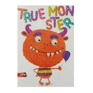 Caderno MarMar Zoo A4 Pautado True Monster