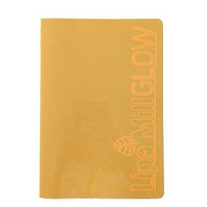 Caderno MarMar Glow A4 Sem Pauta Laranja