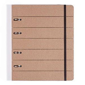 Caderno Argolado Cicero Kraft 17x24
