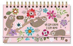Agenda Mini Bicho Preguica Fina Ideia