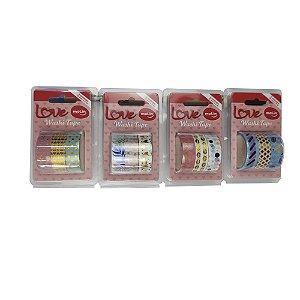 Washi Tape Love Molin Kit 3 unidades