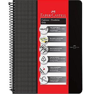 Caderno Grip Faber Castell Pautado 80fls Preto A4