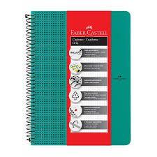 Caderno Grip Faber Castell Pautado 80fls Verde A4