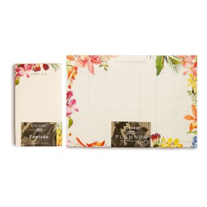 Kit Blocos Cicero Floresta Tropical Planner Mensal + Ideias