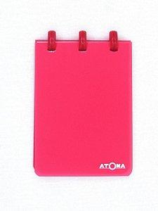 Caderneta Atoma Transparent Sem Pauta A7