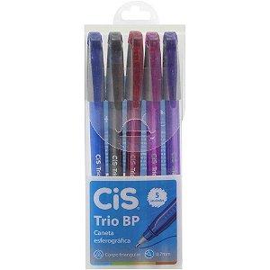 CIS Trio BP 0.7mm Conjunto 5 Cores