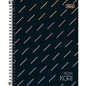 Caderno Neon Kori Tilibra