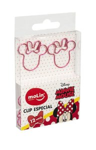 Clips de Papel Minnie Molin Kit c/12