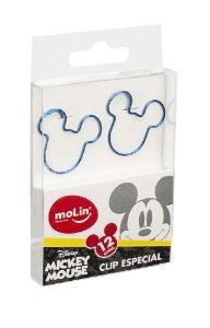 Clips de Papel Mickey Molin Kit c/12
