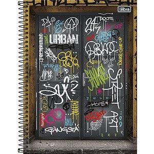 Caderno Tilibra Grafiti Universitario 1 Materia Urban