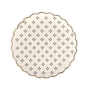 Mini Prato Decorativo em cerâmica