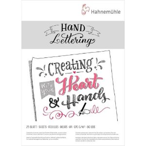 Bloco para Lettering A4 170g 25 folhas Hahnemuhle