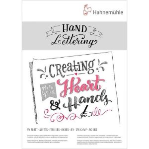 Bloco para Lettering A5 170g 25 folhas Hahnemuhle