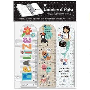 Marcador de pagina Frases, Cachorro, Sereias- Fina Ideia