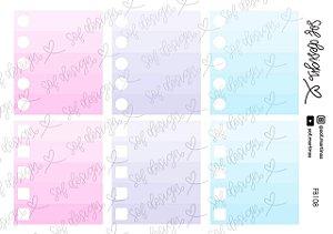 Cartela de Adesivos Decorados Sof Design  - FB108