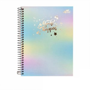 Caderno Colegial Make It Happen Candy 80 folhas 90g Merci