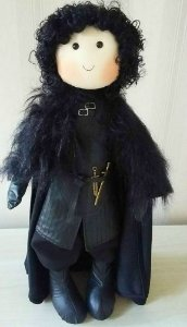 GAME OF THRONES - BONECO JON SNOW