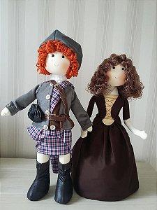 Casal - Jamie e Claire - frete único