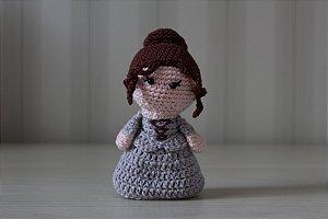 Boneco amigurumi Claire Fraser