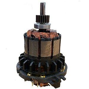 Rotor + Escovas Pinhão Dewalt Dcd780 E Dcd785 220v N342259