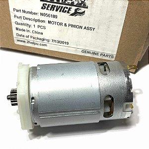 Motor E Pinhão P/ Parafusadeira Dcf610 Tipo 1 Dewalt N056189