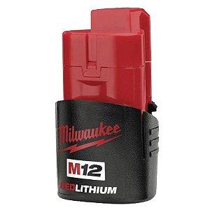 Bateria de 12V de Íons de Lítio 1,5Ah M12 Milwaukee 48-11-2459