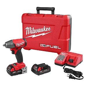 """Chave de Impacto 3/8"""" Milwaukee 2654-259C Fuel 18V"""