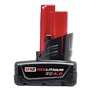 Bateria de 12V de Íons de Lítio 4,0Ah M12 Milwaukee 48-11-2759
