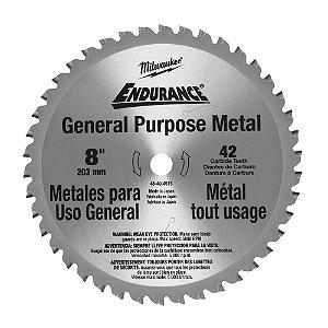 Disco de Corte para Metal Milwaukee 48-40-4515 42 Dentes