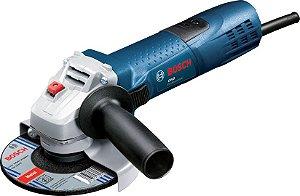 """Esmerilhadeira Bosch GWS 7-115 ET 4-1/2"""" (115 mm) 720w"""