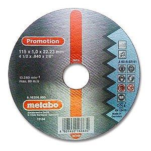 Disco de corte fino Metabo Promotion A60-R BF/41 115X1,0X22,23 16356 - Metabo Promotion